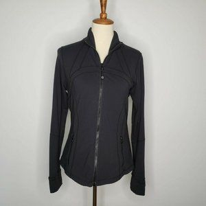 Lululemon Athletica Black Zip Ventilated Jacket